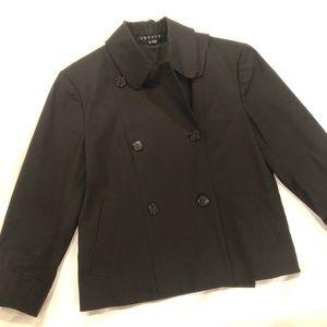 Theory 'Mikey' Cropped Blazer